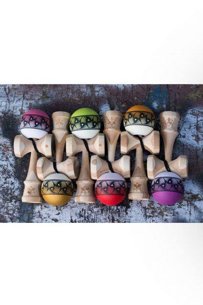 6 различни цвята бамбукови кендами